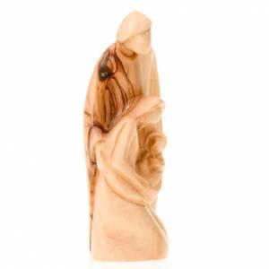 Nativity sets: Wooden nativity of Bethleem, 13 cm