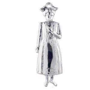 Wota błagalne i dziękczynne: Wotum dziewczynka srebro 925 lub metal 15 cm