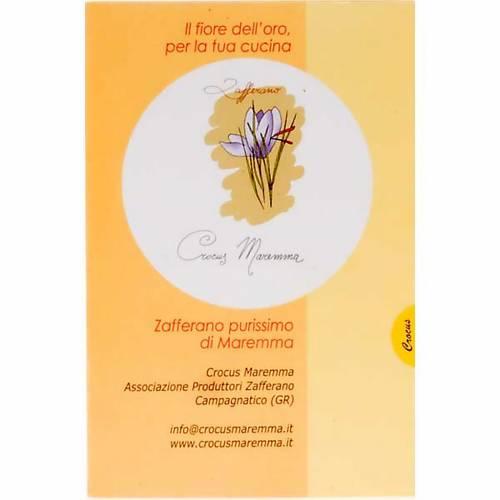 Zafferano purissimo Monastero di Siloe 0,10 gr s2