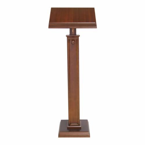 Modern style wood lectern s1