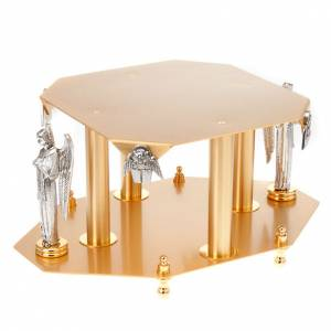 Thabors, Monstrance stands: Monstrance stand with angels and evangelists