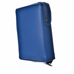 Morning and Evening prayer cover: Morning & Evening prayer cover, blue bonded leather with image of the Christ Pantocrator with open book