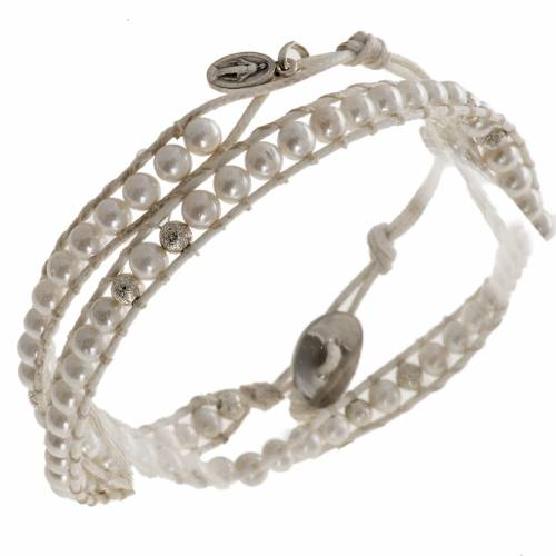 Mother of pearl bracelet 4mm s1