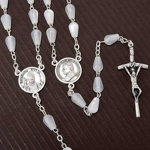 Mother of pearl effect rosary s4