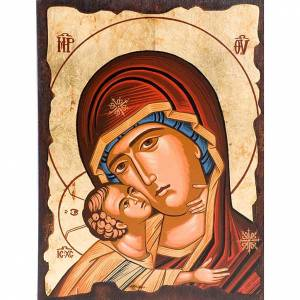 Mother of Tenderness icon with red dress s1