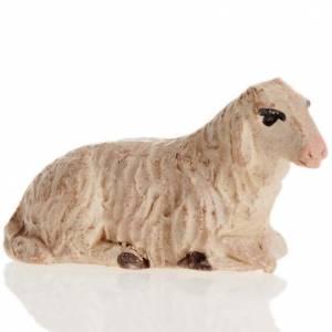 Mouton couché crèche Naples 8 cm s1