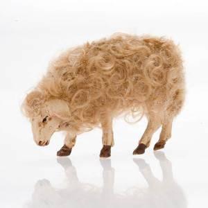 Mouton tête baissée crèche 14 cm s1