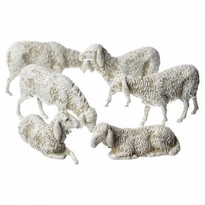 Moutons crèche Moranduzzo 8cm, 6 pcs s1