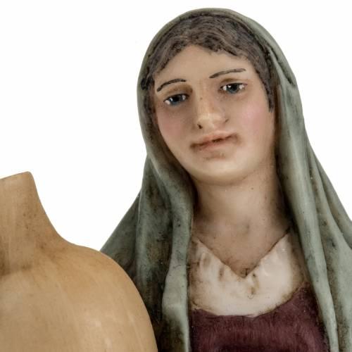 Mujer con ánfora pesebre 18 cm Landi s4