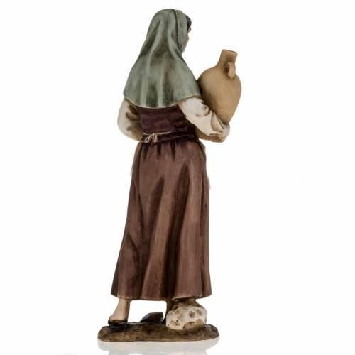 Mujer con ánfora pesebre 18 cm Landi s5
