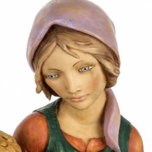 Mujer con niño 65 cm. pesebre Fontanini s3