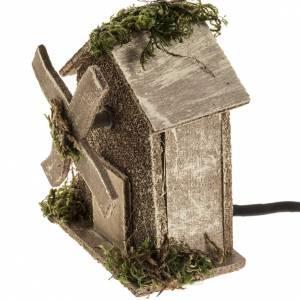 Mulini per Presepi: Mulino a vento presepe 4W 15-18 giri/min 13x10x6