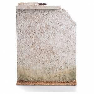 Mur liège avec fausse porte crèche 27x21x5cm s2