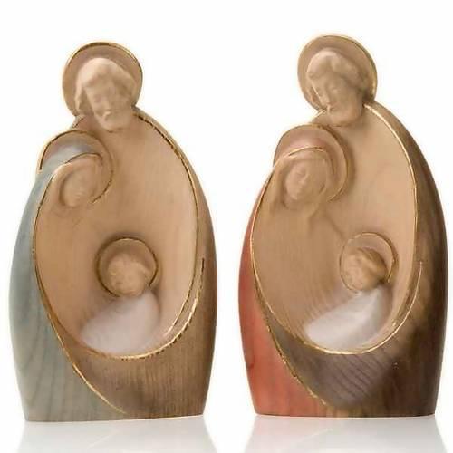 Natività stilizzata in legno 20 cm s1