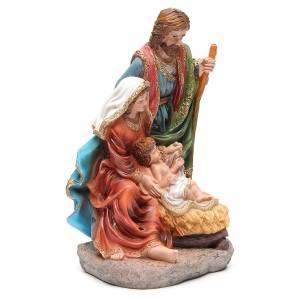 Nativité 40 cm 3 santons résine s4
