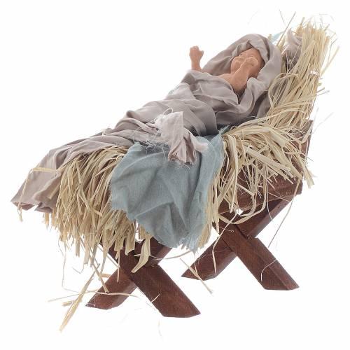 Nativité 42 cm style shabby s4