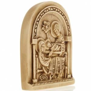 Bas reliefs en pierre: Nativité bas relief en pierre Bethléem
