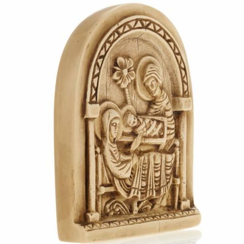 Nativité bas relief en pierre Bethléem s2