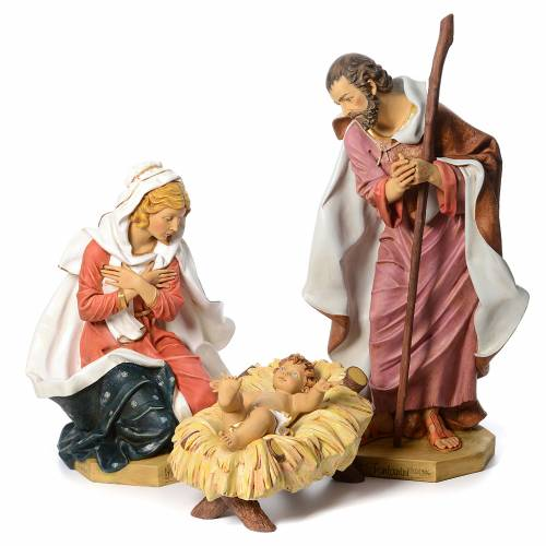 Nativité crèche 125 cm résine Fontanini s1