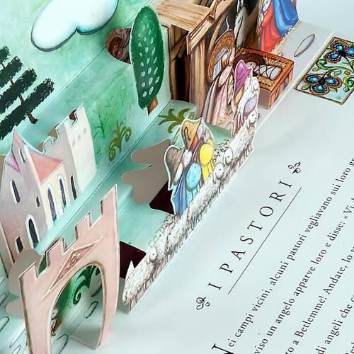 Nativité, livre pop up ITALIEN s2