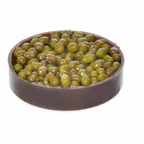 Nativity accessory, plastic box with olives, diam. 5cm s1