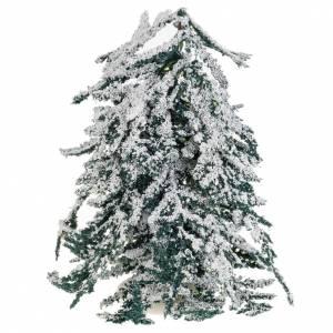 Moos, Trees, Palm trees, Floorings: Nativity accessory, snow covered tree H15cm