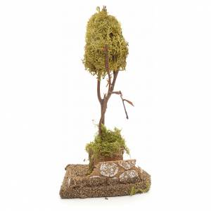 Moos, Trees, Palm trees, Floorings: Nativity accessory, yellow lichen tree for do-it-yourself nativi