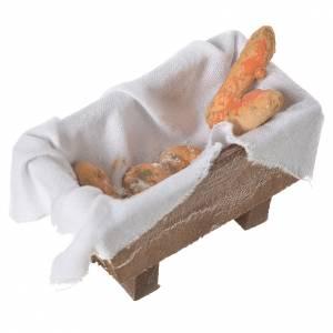 Nativity bread storage chest in terracotta 5x7.5x4cm s6
