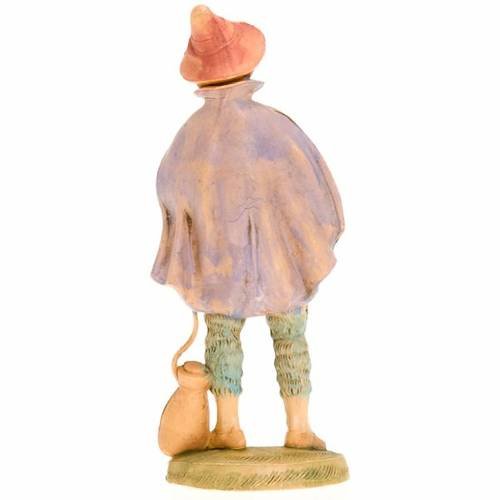 Nativity figurine, fifer with sack 18cm 2