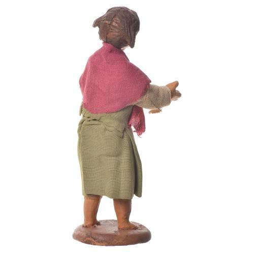 Nativity figurine little girl 14 cm s2