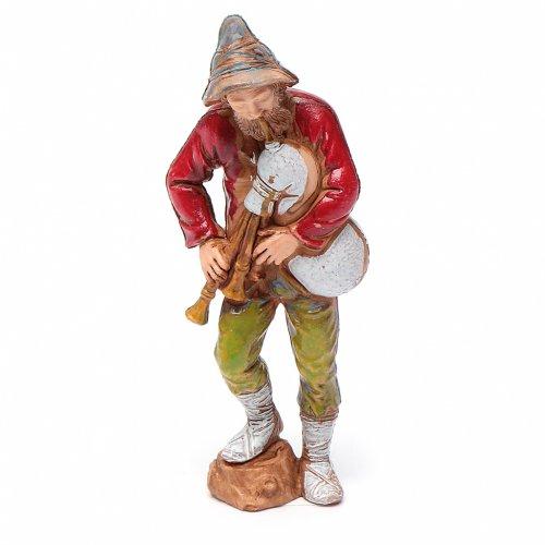 Nativity figurine, piper, 8cm Moranduzzo s1