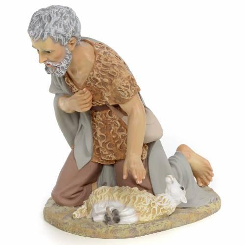 Nativity figurine, shepherd offering lamb, 40cm (fine decoration s2