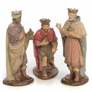 Nativity figurines, three Wise Kings, 25cm (antique decoration) s1