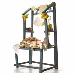 Nativity ricotta cheese stall, 41x25x15cm s2