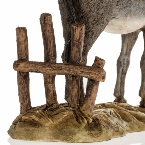 Nativity scene figurine, donkey, 18cm by Landi s3