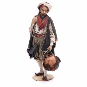 Nativity scene figurine prostrating shepherd 30cm, Angela Tripi s2