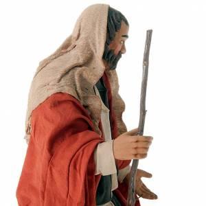 Nativity scene set Joseph and expecting Mary on donkey 30 cm s2