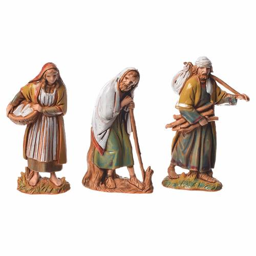 Nativity Scene shepherds figurines by Moranduzzo 6.5cm s2