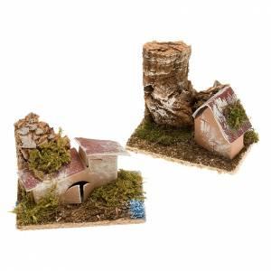 Nativity set accessory, Houses setting s1