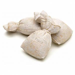 Nativity set accessory, sacks of flour, 3 pieces s2