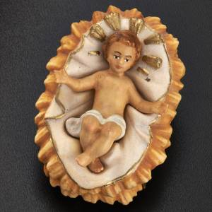 Nativity scene from Val Gardena: Nativity set, Raffaello, 15 cm