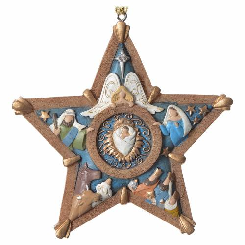 Nativty star Hanging Ornament, Legacy of Love s1