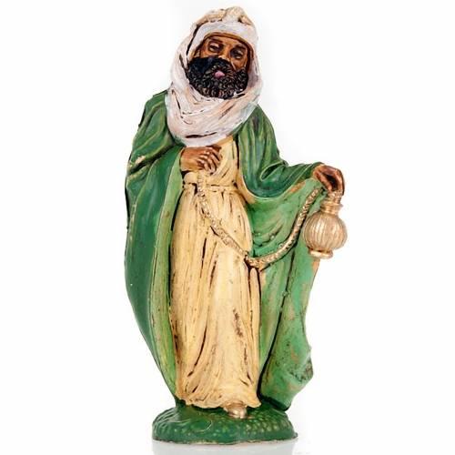 Natvity scene, black wise man figurine 10cm s1