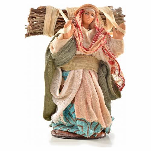 Neapolitan Nativity, Arabian style, woods woman 6cm s1