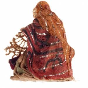 Neapolitan Nativity figurine, Embroideress 8cm s2