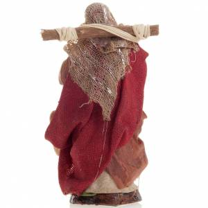Neapolitan nativity figurine, female water carrier 8cm s3