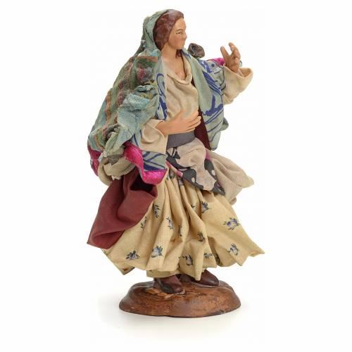 Neapolitan Nativity figurine, gypsy, 18 cm s2