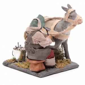 Neapolitan Nativity figurine, horseshoer, 10 cm s3