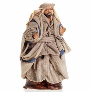 Neapolitan Nativity figurine, Sitting Arabian 8cm s1