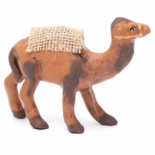 Neapolitan nativity figurine, standing camel, 8cm s2